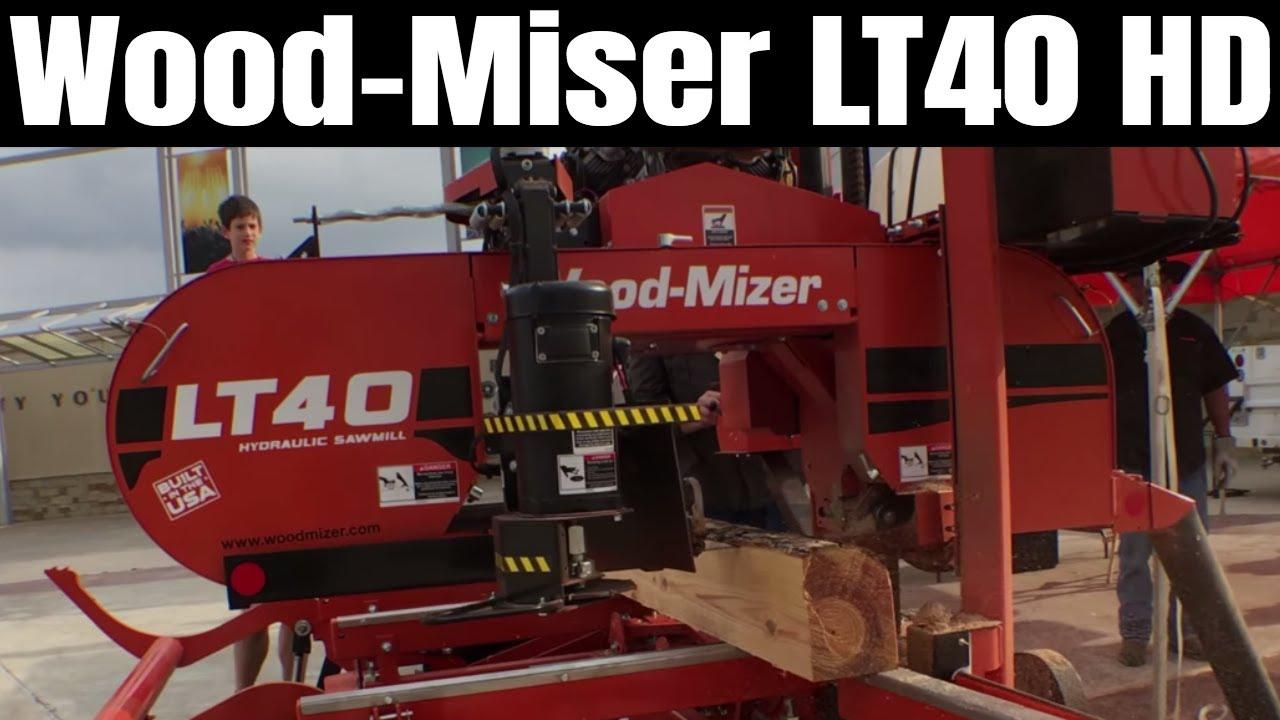 Wood-Mizer LT40 HD Hydraulic Portable Sawmill