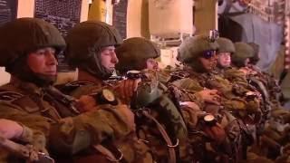 Совместные прыжки с парашюта десантников России и Египта