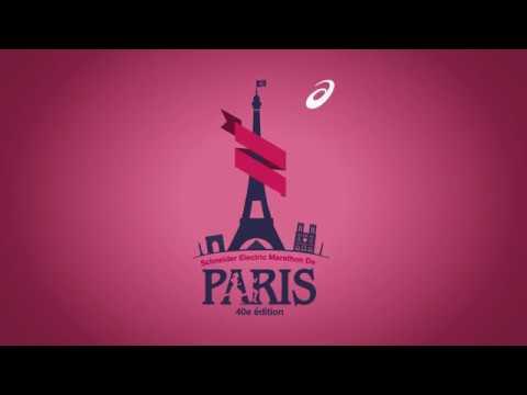 Asics Paris Marathon 2016 Motion Graphics