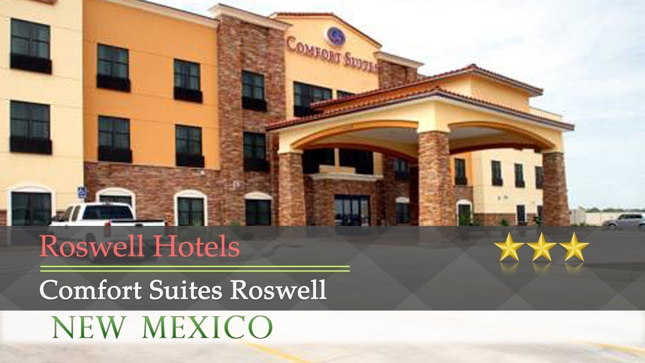 comfort suites roswell roswell hotels new mexico youtube. Black Bedroom Furniture Sets. Home Design Ideas
