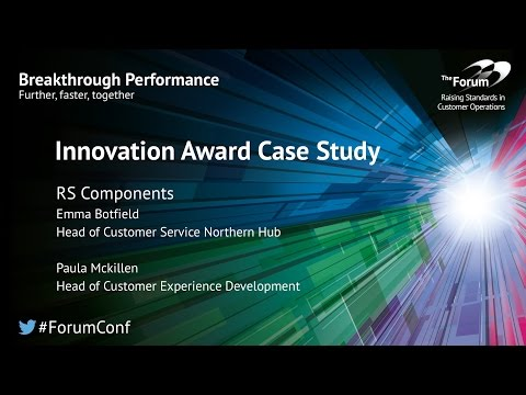 Innovation Case Studies: RS Components