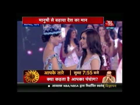 India's Manushi Chhilar Wins Miss World 2017 Beauty Pageant
