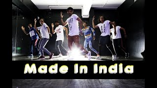 Made In India | Guru Randhawa | Mohit Jain's Dance Institute MJDi | Dance Choreography