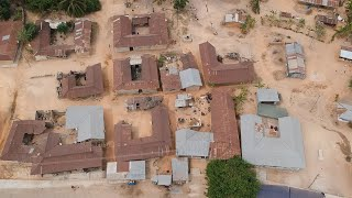Ghana Drone Footage: Visiting the Bodwease Shrine And Village