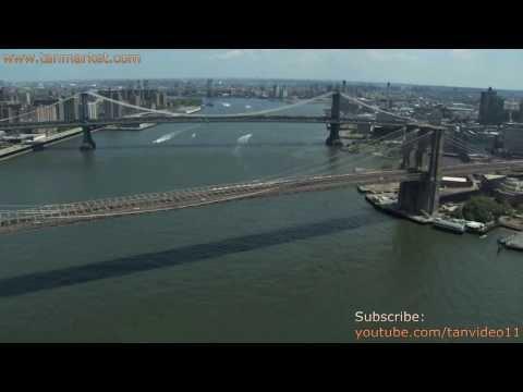 Brooklyn and Manhattan Bridge Video Collage - New York City - youtube.com/tanvideo11