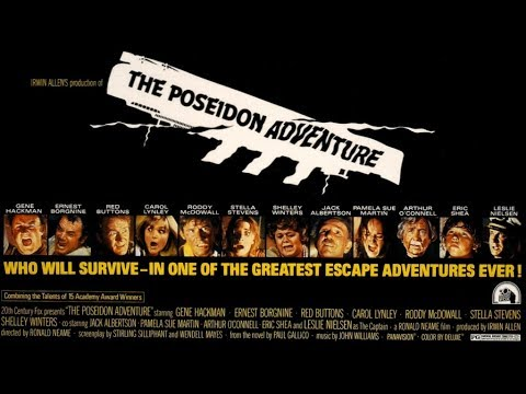 THE POSEIDON ADVENTURE (1972), Gene Hackman, Ernest Borgnine, Shelley Winters - #FILMTALK REVIEW