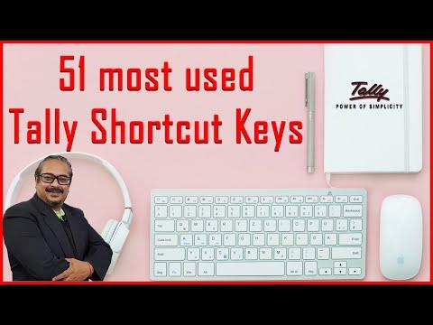 Tally Shortcut Keys | Top 51 Shortcuts Keys