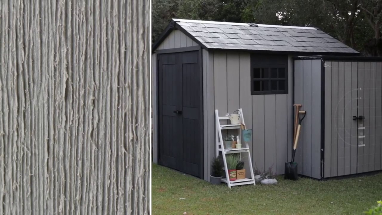 Keter duotech sheds and outdoor storage youtube for Caseta pvc exterior