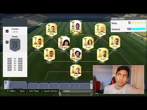 WORLD'S HIGHEST RATED TEAM IN FIFA 17!!!