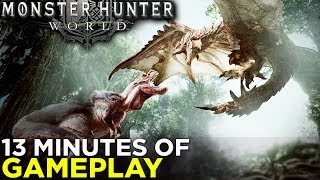 Phil and Griffin Talk MONSTER HUNTER: WORLD - 12 Minutes of HANDS-ON GAMEPLAY