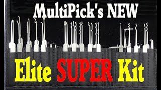 (1240) Review: Multipick Elite Super Lock Pick Kit
