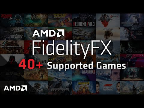 AMD Brings FidelityFX Graphics Suite to Xbox Series X|S