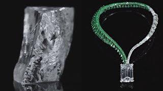 Самый большой бриллиант выставленный на торги показали в ОАЭ (новости)