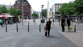 Video of the city centre saarbrucken.
