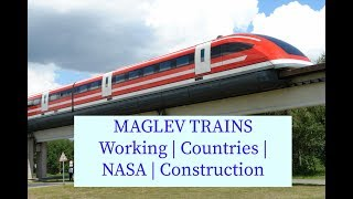 All about Maglev Trains how it works, Countries, NASA, Construction,...