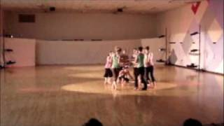 UVM Hoop Dancing Club Performance with Orchesis