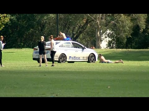 Confronting Footage Shows NSW Police Enforcing Social Distancing