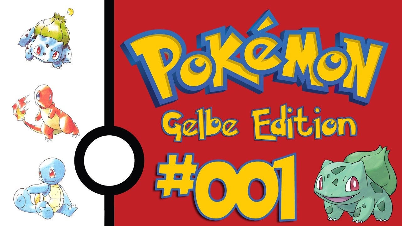 pokemon gelbe edition