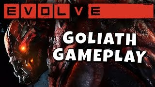 Evolve - Goliath Gameplay - Hiding in Plain Sight!