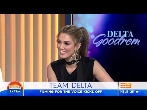 Delta Goodrem - Today Extra (7 March 2016)
