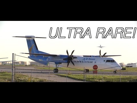 ULTRA RARE!! Air Tanzania Early morning Takeoff From Toronto Pearson! (1080p60)