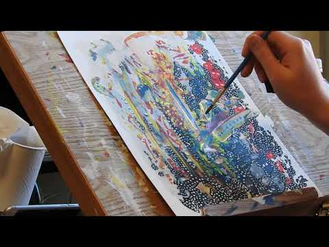 painting abstract art