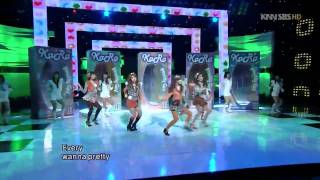 [HD] Kara - Pretty Girl (Remix) Live @ 090104 Inki.mp4
