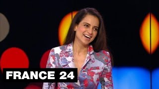 Video Exclusive interview of Bollywood 'Queen' Kangana Ranaut on FRANCE24 download MP3, 3GP, MP4, WEBM, AVI, FLV September 2017