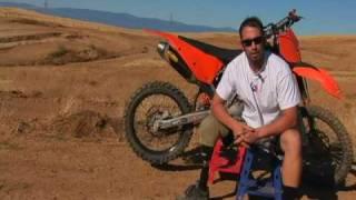 Adaptive pro Motocross rider Todd Thompson trains for X-Games/rider interviews