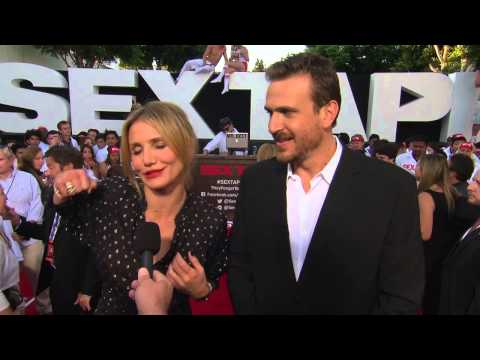 Sex Tape: Cameron Diaz & Jason Segel Red Carpet Premiere Movie Interview