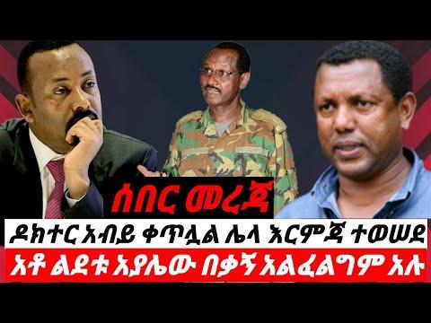 Ethiopia ዶክተር አብይ ቀጥሏል! ሌላ ወሳኝ  እርምጃ ተወሰደ ፣ አቶ ልደቱ አያሌው በቃኝ አልፈልግም አሉ! Ethiopian News September 17