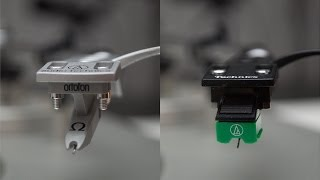 Phono Cartridge Audio Comparison - Audio Technica AT-95E VS. Ortofon Omega