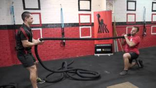 FTI: Awesome Battling Ropes Pulling Exercise Complex