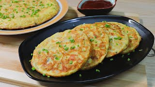 Potato Omelette with Tomato | Easy and Yummy Potato Recipe