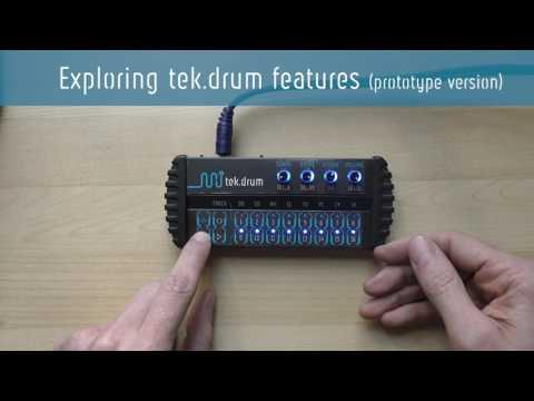 Exploring the tek.drum