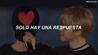 Answer: Love Myself - BTS (Traducida al Español)