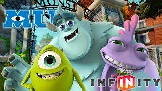 MONSTRUOS SA UNIVERSITY - Juegos de Dibujos y Caricaturas para Niños en Español - Disney Infinity