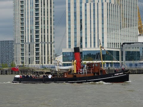 Shipspotting on the River Thames - 14/04/2017