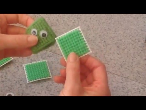Frog Plastic Canvas Cross Stitch