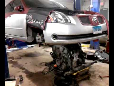 2004 Nissan Maxima SE Engine SWAP   YouTube