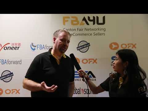 Interview with Chris Davey the Founder of the FBA4U Canton Fair Amazon Meetup