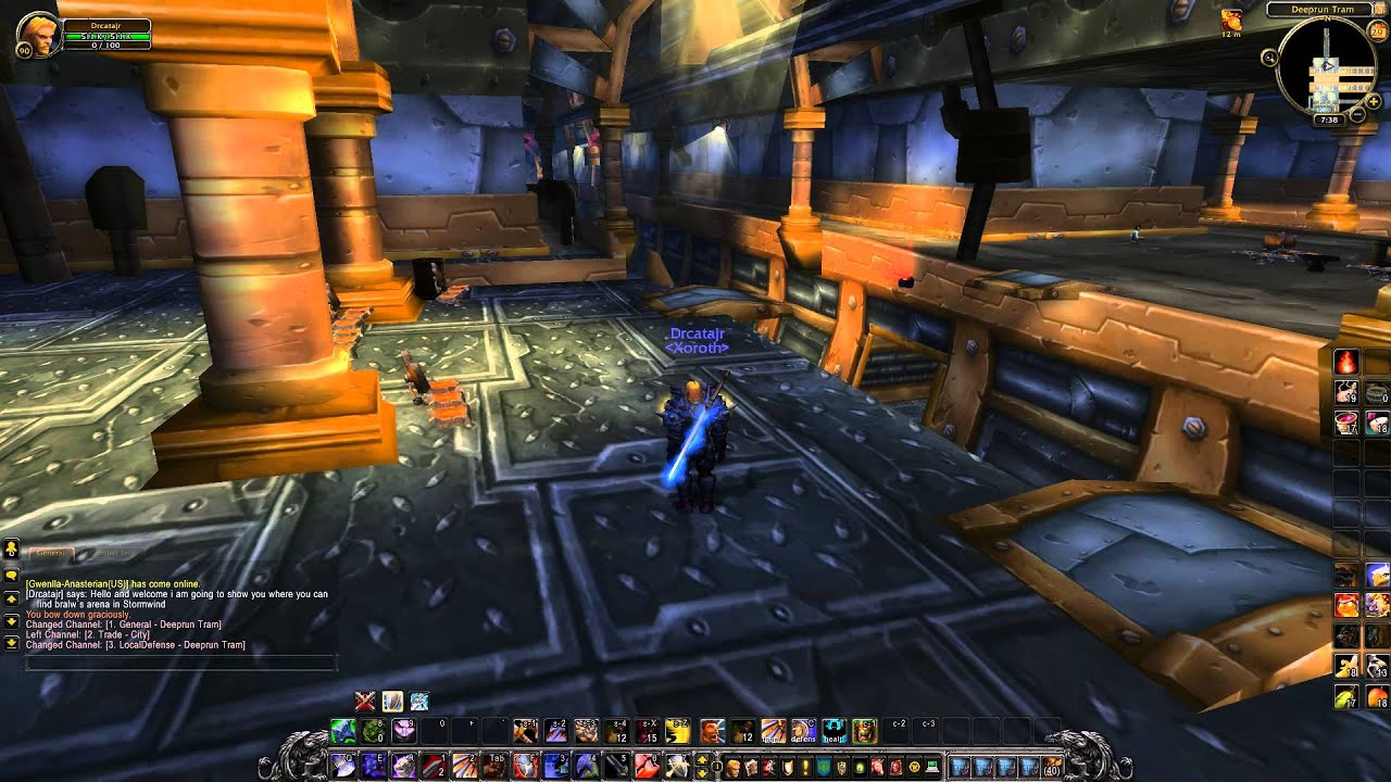 wow how to get to exodar from stormwind