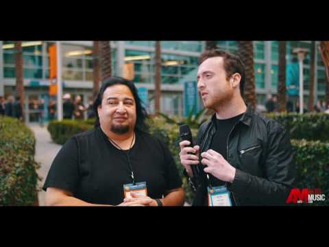 Dino Cazares from Fear Factory - NAMM 2017 - Alto Music