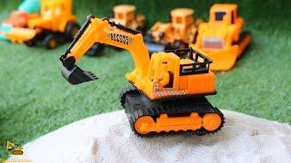 Excavator & Wheel loader รถก่อสร้างทำถนน รถแม็คโคร รถตักดิน รถบดดิน รถโม่ปูน รถเครน รถยนต์ รถดั้ม