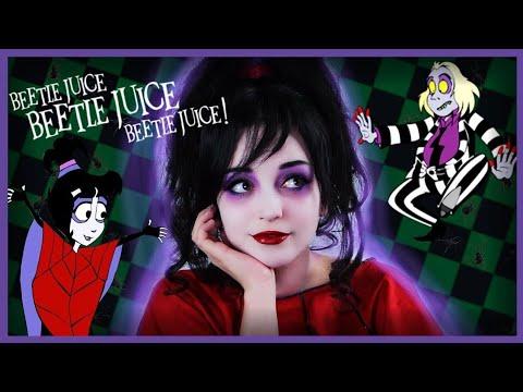 Beetlejuice Lydia Deetz Makeup Tutorial Youtube