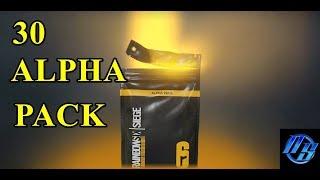 30 Alpha Pack Açılımı | Rainbow Six Siege Türkçe Video