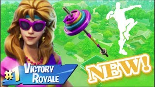 "SKINS D'EXERCICE ""AEROBIC ASSASSIN - AXERCISE"" GAMEPLAY :] / HEAVY SNIPER SOON. (Fortnite)"