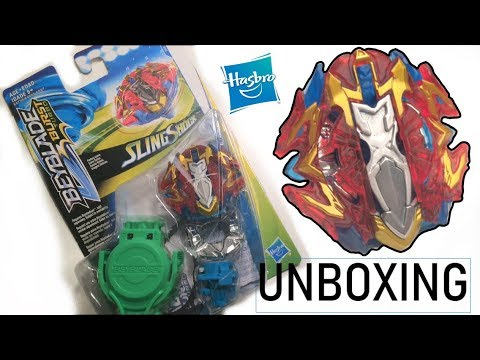 BREAKER XCALIUS X4 Unboxing & Review | Beyblade Burst Turbo