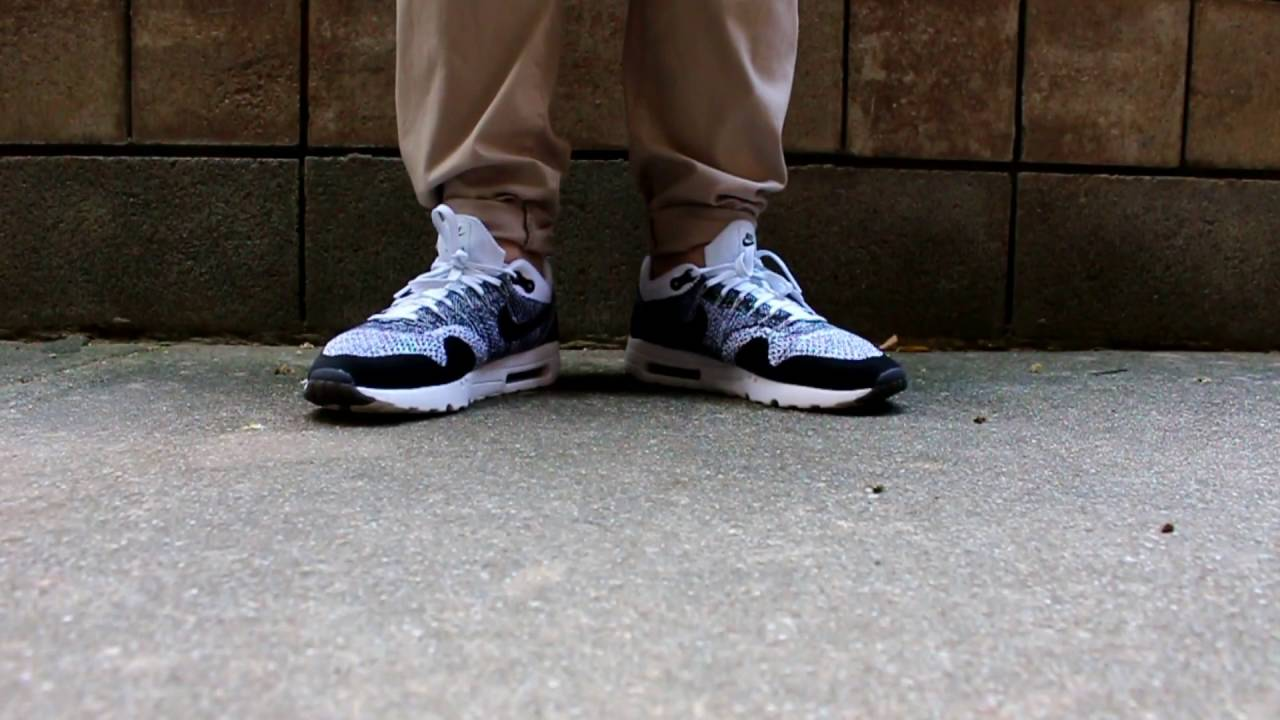 e7633a7d5157d Sneaker On-foot   Nike Air Max 1 Flyknit  AirMax  Flyknit - YouTube