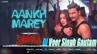 || Simmba || O ladki Ankh marey || remix song || ranveer singh & sara ali khan